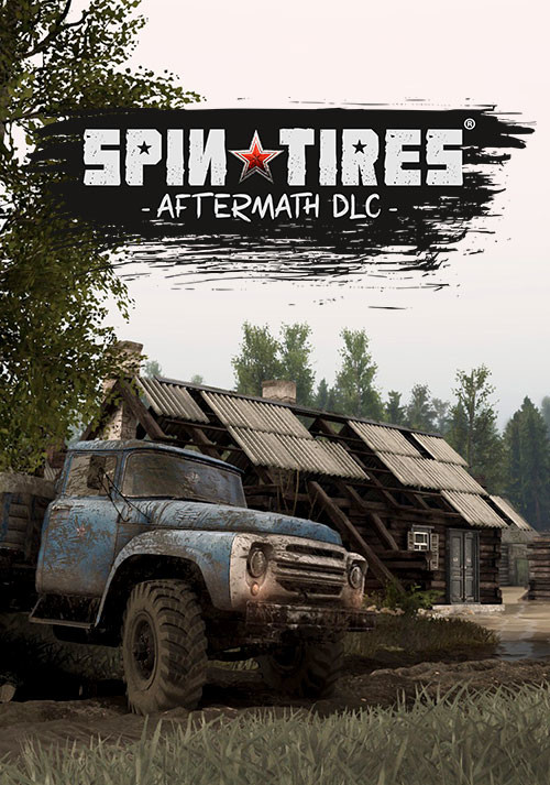 Spintires® - Aftermath DLC - Cover / Packshot