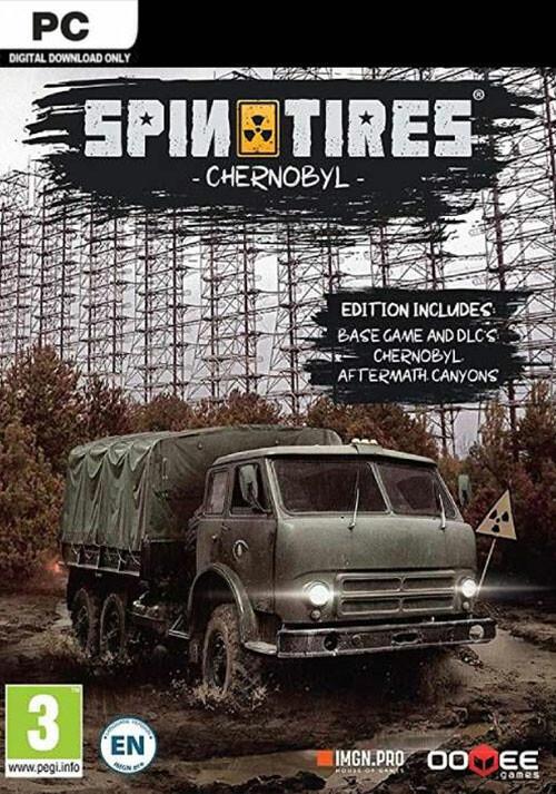 Spintires® - Chernobyl Bundle - Cover / Packshot