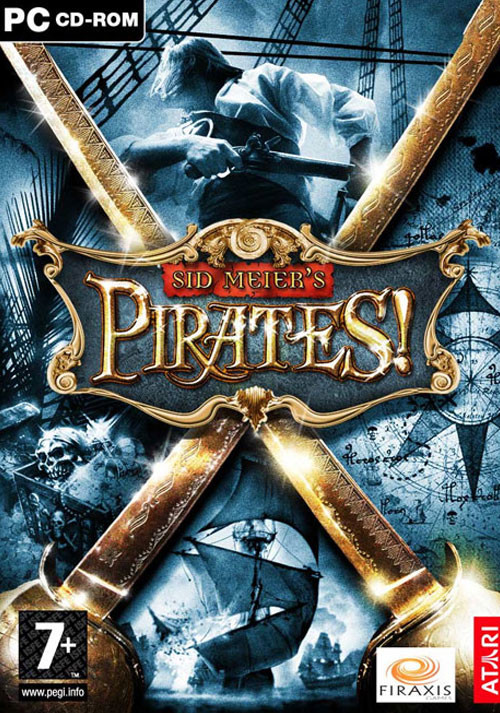 Sid Meier's Pirates! - Cover