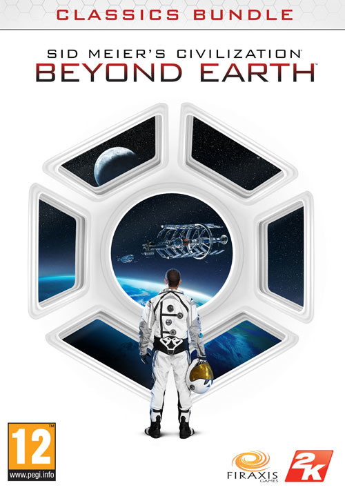 Sid Meier's Civilization Beyond Earth Classics Bundle - Cover / Packshot