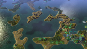 Screenshot1 - Civilization: Beyond Earth Exoplanets Map Pack