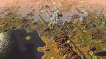 Screenshot2 - Civilization: Beyond Earth Exoplanets Map Pack