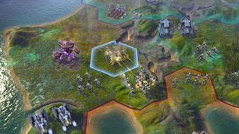 Screenshot3 - Civilization: Beyond Earth Exoplanets Map Pack