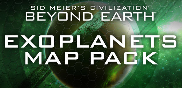 Civilization: Beyond Earth Exoplanets Map Pack - Cover / Packshot