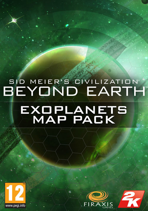 Civilization: Beyond Earth Exoplanets Map Pack - Cover / Packshot