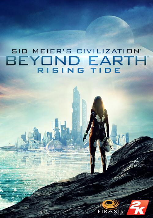 Sid Meier's Civilization: Beyond Earth - Rising Tide - Cover / Packshot