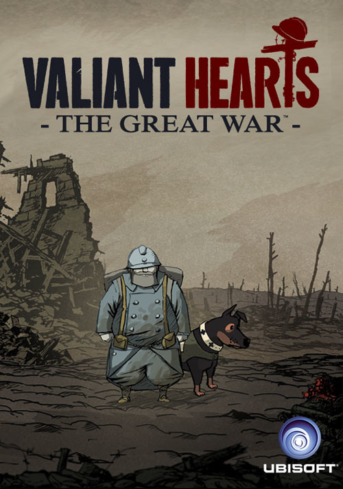 Valiant Hearts: The Great War - Cover / Packshot
