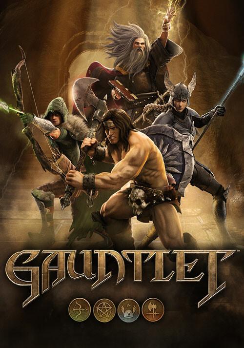 Gauntlet - Cover