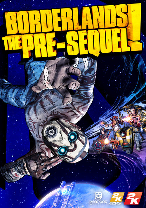 Borderlands: The Pre-Sequel - Cover
