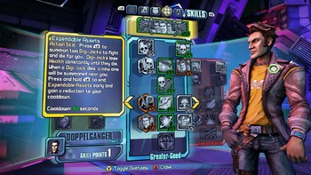 Screenshot1 - Borderlands: The Pre-Sequel - Handsome Jack Doppelgänger Pack