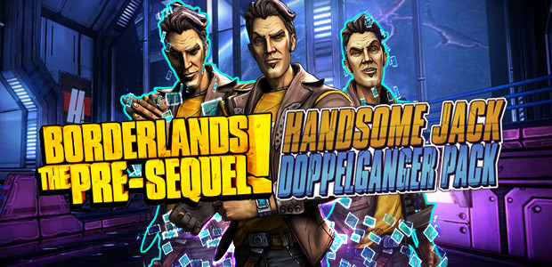 Borderlands: The Pre-Sequel - Handsome Jack Doppelgänger Pack - Cover / Packshot