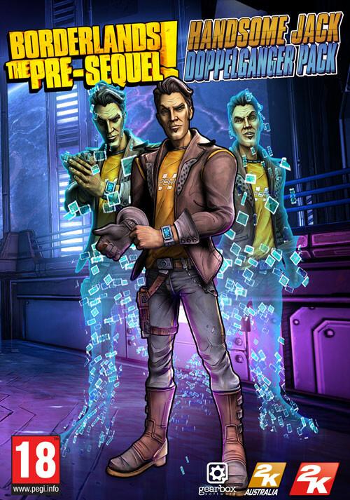 Borderlands: The Pre-Sequel - Handsome Jack Doppelganger Pack - Cover / Packshot