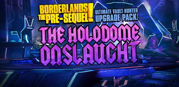 Borderlands: The Pre-Sequel - Ultimate Vault Hunter Upgrade Pack: The Holodome Onslaught DLC - Cover / Packshot