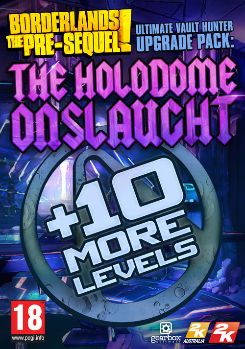 Borderlands: The Pre-Sequel - Ultimate Vault Hunter Upgrade Pack: The Holodome Onslaught DLC - Cover