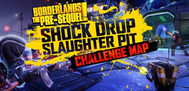 Borderlands: The Pre-Sequel - Shock Drop Slaughter Pit DLC - Cover / Packshot