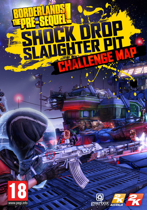 Borderlands: The Pre-Sequel - Shock Drop Slaughter Pit DLC - Cover