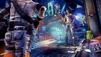 Screenshot1 - Borderlands: The Pre-Sequel - Shock Drop Slaughter Pit DLC