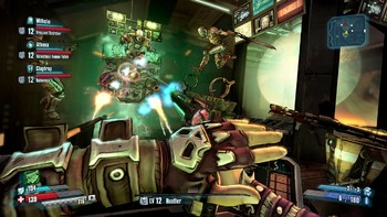 Screenshot2 - Borderlands: The Pre-Sequel - Shock Drop Slaughter Pit DLC