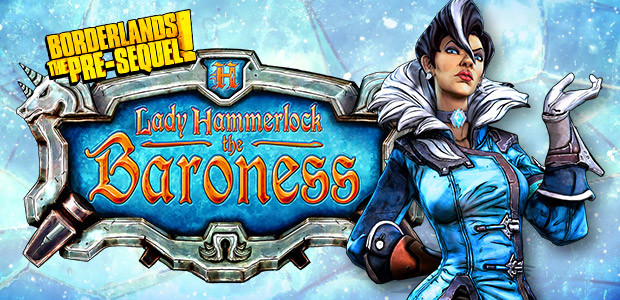 Borderlands: The Pre-Sequel - Lady Hammerlock Pack DLC - Cover / Packshot