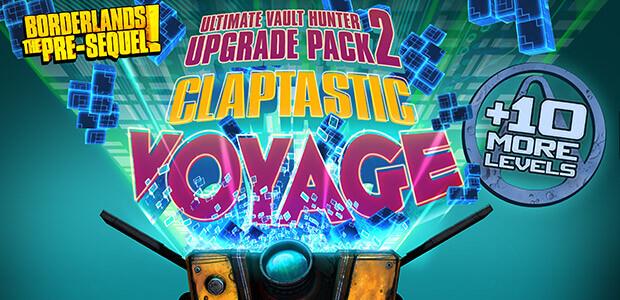 Borderlands: The Pre-Sequel - Claptastic Voyage and Ultimate Vault Hunter Upgrade Pack 2 - Cover / Packshot