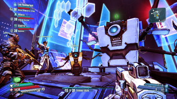 Screenshot1 - Borderlands: The Pre-Sequel - Claptastic Voyage and Ultimate Vault Hunter Upgrade Pack 2