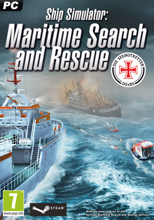 Ship-Simulator: Maritime Search and Rescue - Cover / Packshot