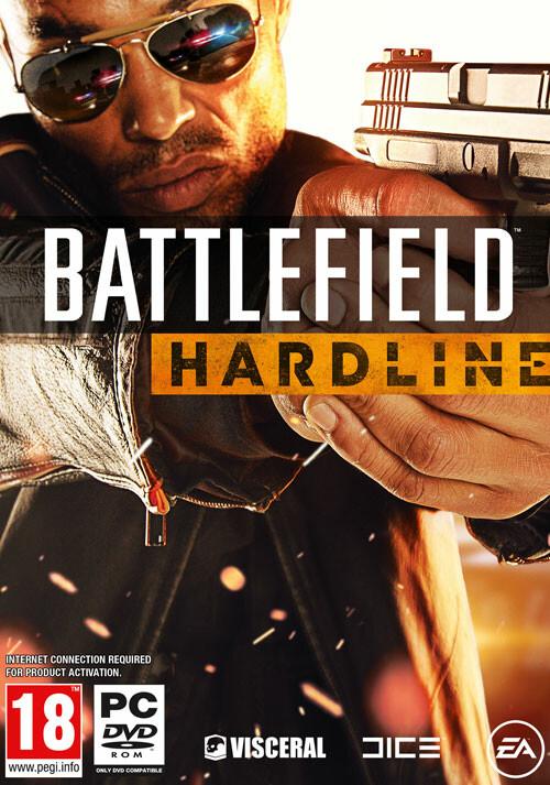 Battlefield Hardline - Cover / Packshot