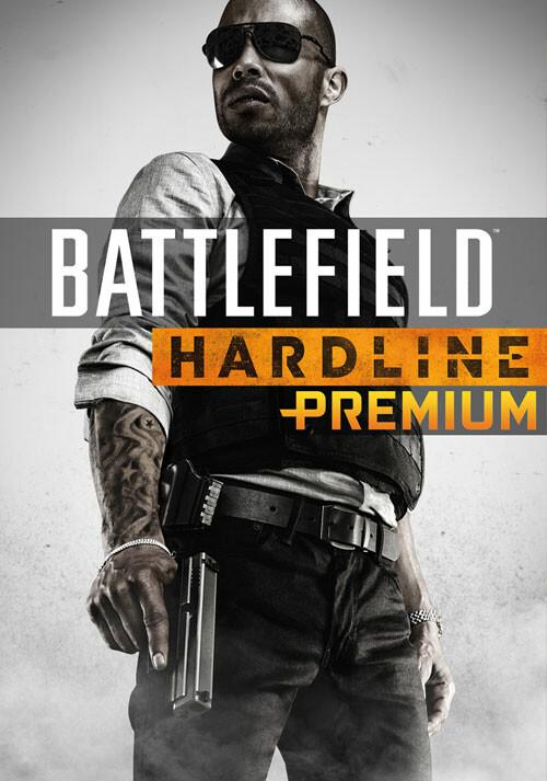 Battlefield Hardline Premium Service - Cover / Packshot