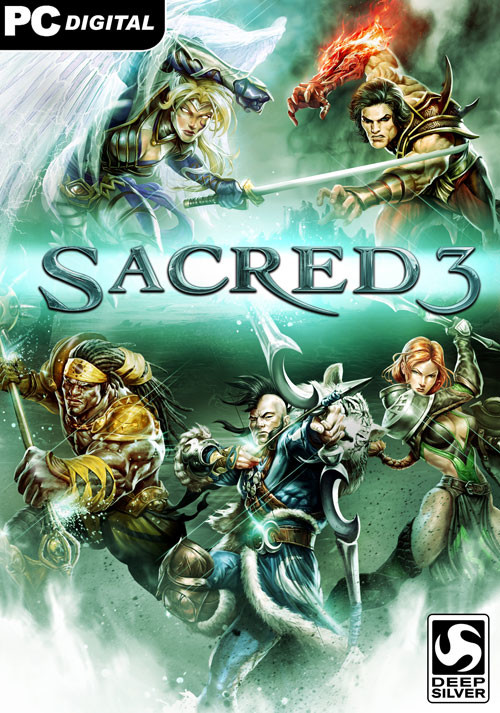 Sacred 3 - Cover
