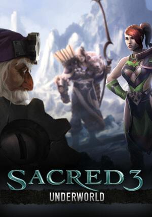 Sacred 3 - Underworld Story DLC 2 - Cover / Packshot