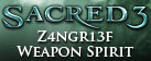 Sacred 3 - Z4ngr13f Weapon Spirit DLC 3