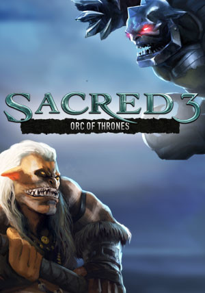 Sacred 3 - Orc of Thrones DLC 4 - Cover / Packshot