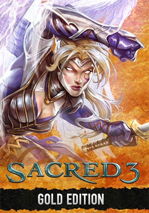 Sacred 3 Gold - Cover