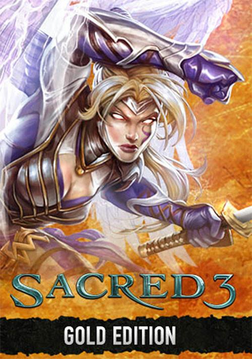 Sacred 3 Gold - Cover / Packshot