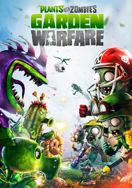 Plants vs. Zombies - Garden Warfare - Cover / Packshot