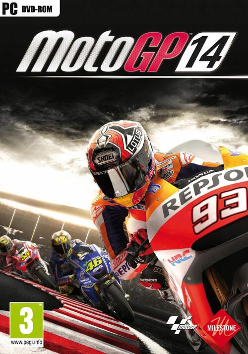 MotoGP™14 - Cover / Packshot