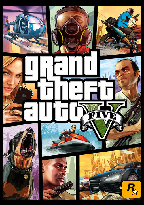 Grand Theft Auto V - Packshot