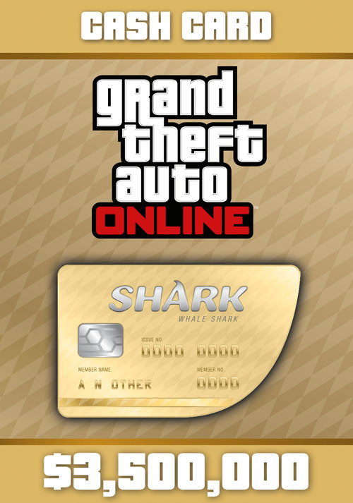 Grand Theft Auto Online: Whale Shark Cash Card		 - Cover