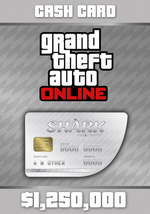 Grand Theft Auto Online: Great White Shark Cash Card - Cover / Packshot