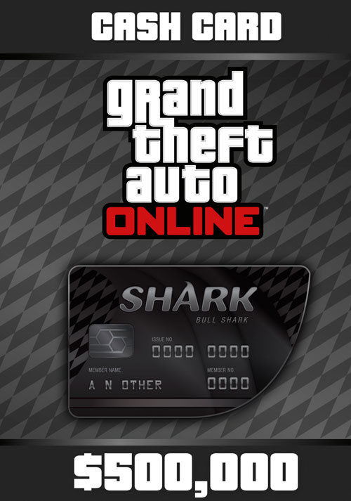 Grand Theft Auto Online: Bull Shark Cash Card - Cover / Packshot