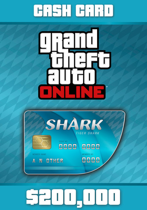 Grand Theft Auto Online: Tiger Shark Cash Card - Cover