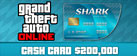 Grand Theft Auto Online: Tiger Shark Cash Card