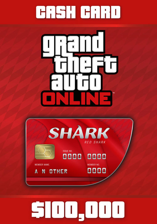 Grand Theft Auto Online: Red Shark Cash Card - Cover