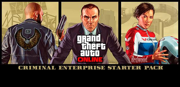 GTA V: Criminal Enterprise Starter Pack - Cover / Packshot