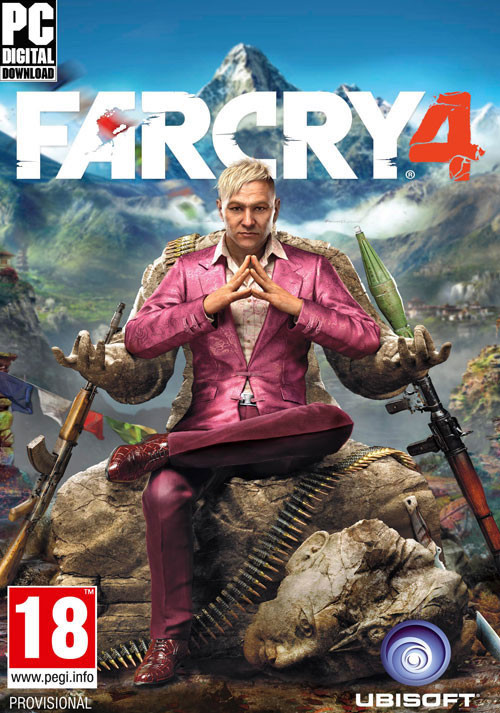 Far Cry 4 - Cover / Packshot