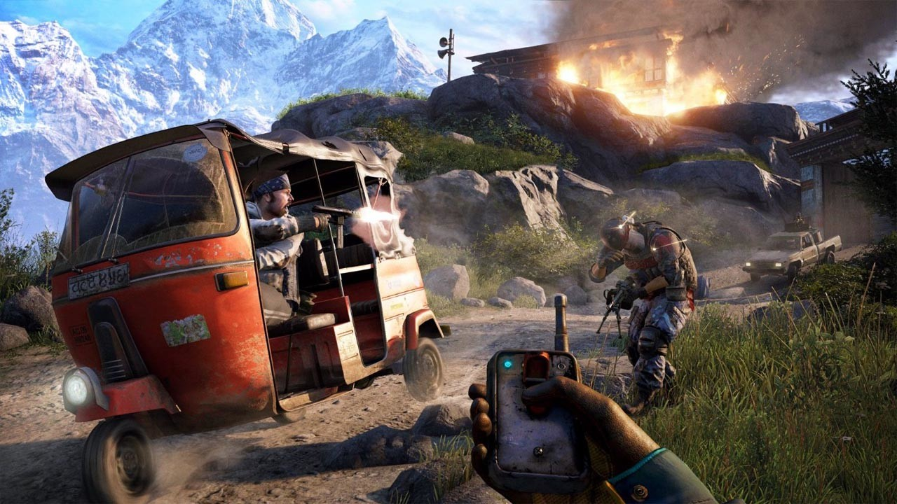 Far Cry 4 Uplay Ubisoft Connect For Pc Buy Now