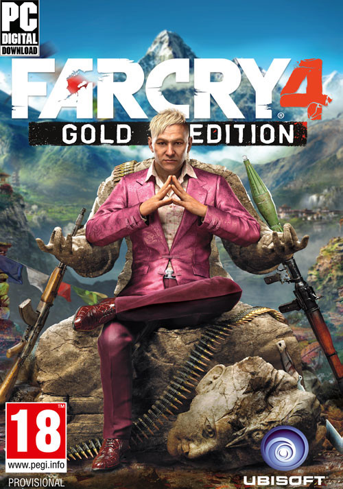 Far Cry 4 - Gold Edition - Cover