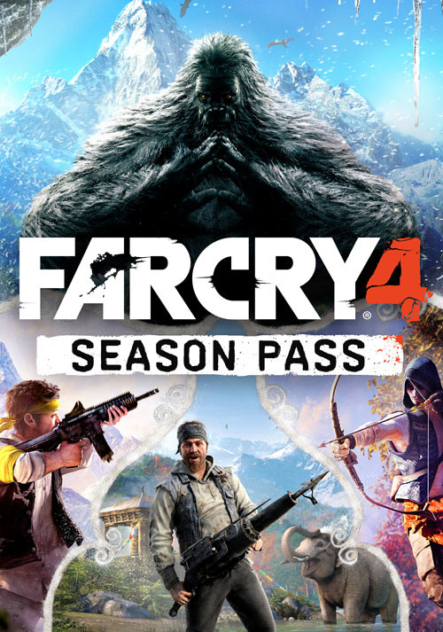 Far Cry 4 Season Pass - Cover / Packshot