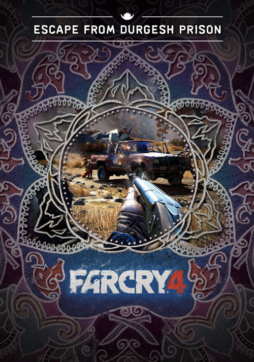 Far Cry 4 - Escape From Durgesh Prison (DLC 1) - Cover