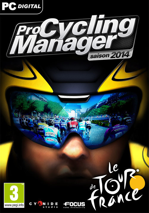 Pro Cycling Manager - Tour de France 2014 - Packshot